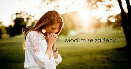 Modlím se za ženy