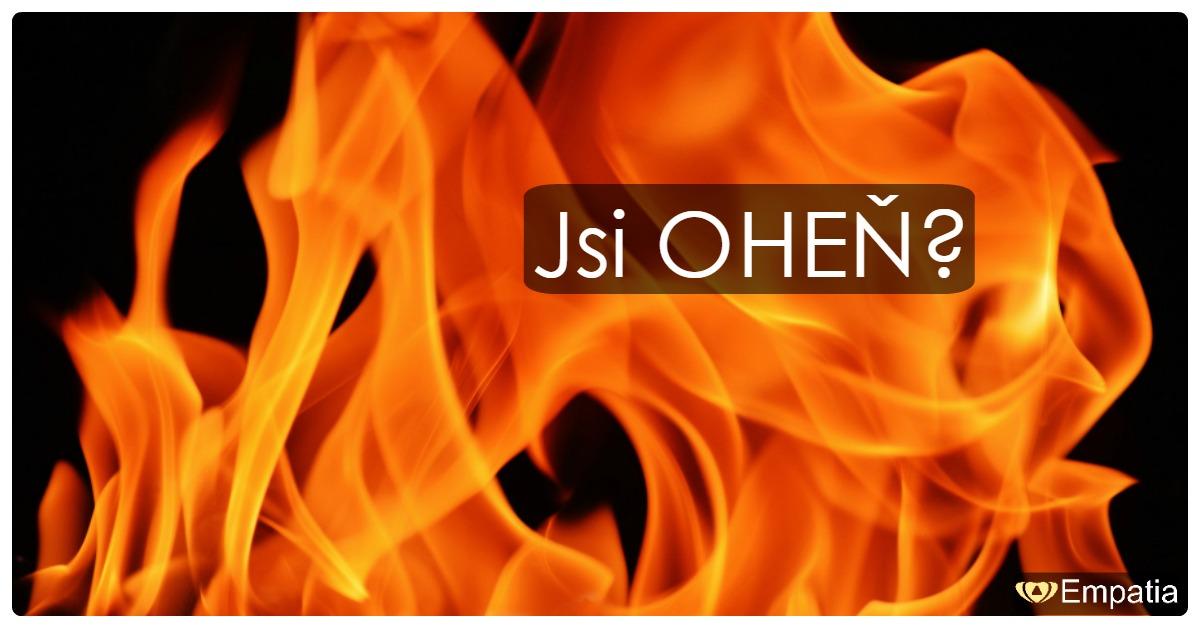 Charakter prvku 9 <br /> Oheň