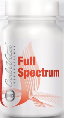 Full Spectrum: 30 druhů různých vitaminů, antioxidantů a minerálů, doplněné bioflavonoidy s postupným uvolňováním