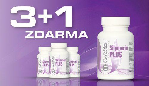 AKCE TÝDNE: Silymarin PLUS 3+1 ZDARMA