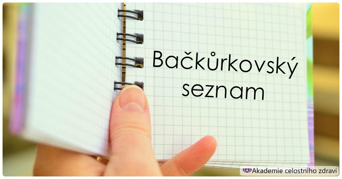 Bačkůrkovský seznam
