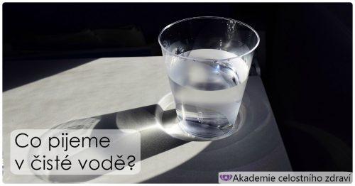"""Co všechno pijeme v """"čisté"""" vodě?"""