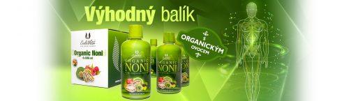 Organic Noni 3+1 ZDARMA