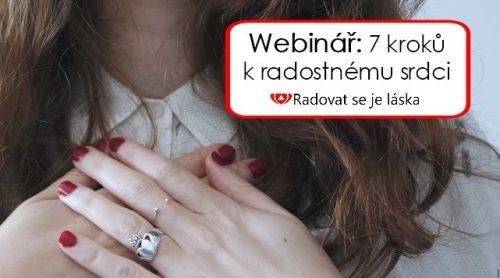 Webinář: 7 kroků k radostnému srdci
